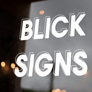 Blick Signs